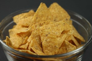 Tortilla Chips Pixelated Crumb