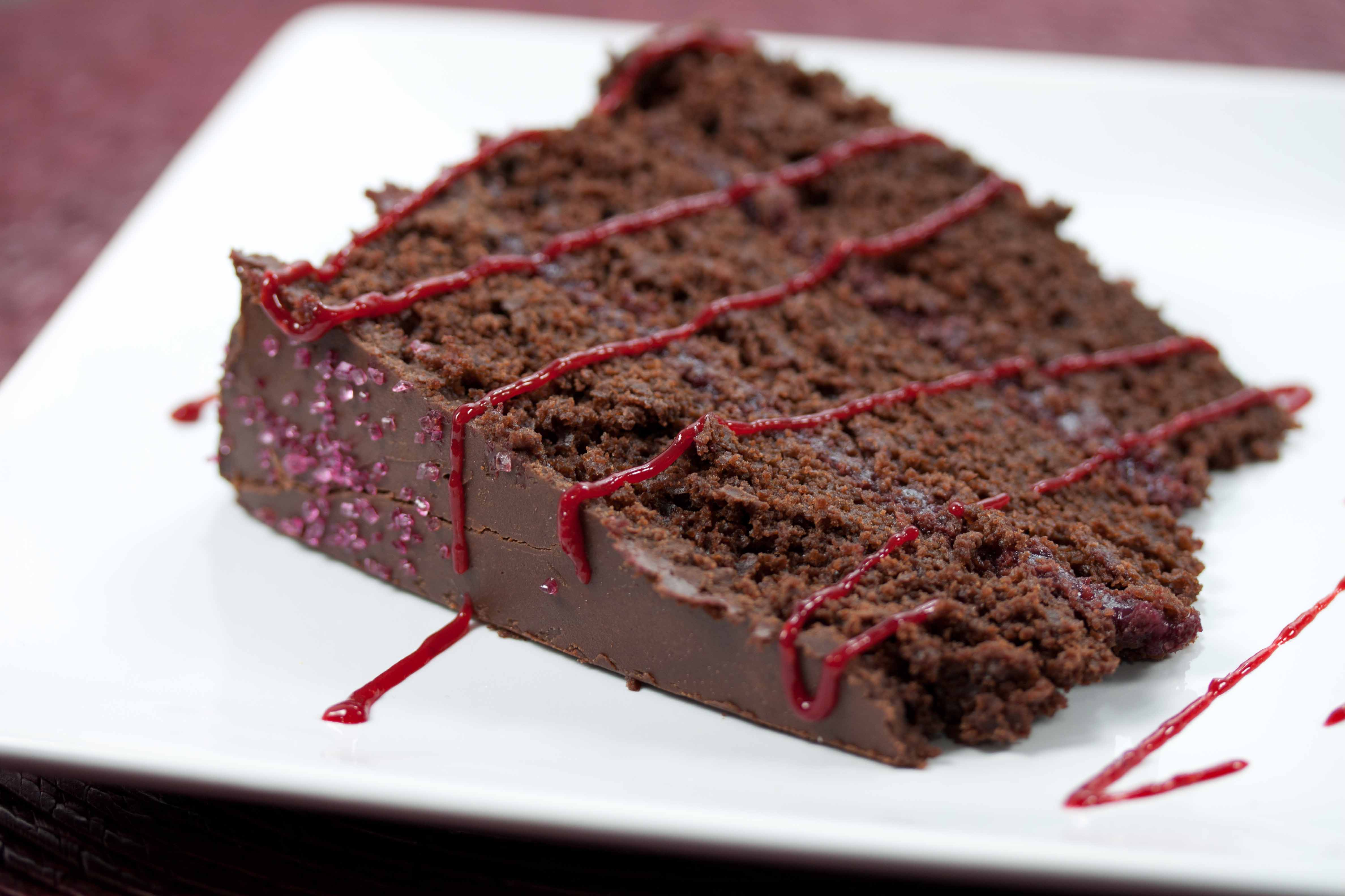 Chocolate Raspberry Cake Chocolate Raspberry Cake Slice