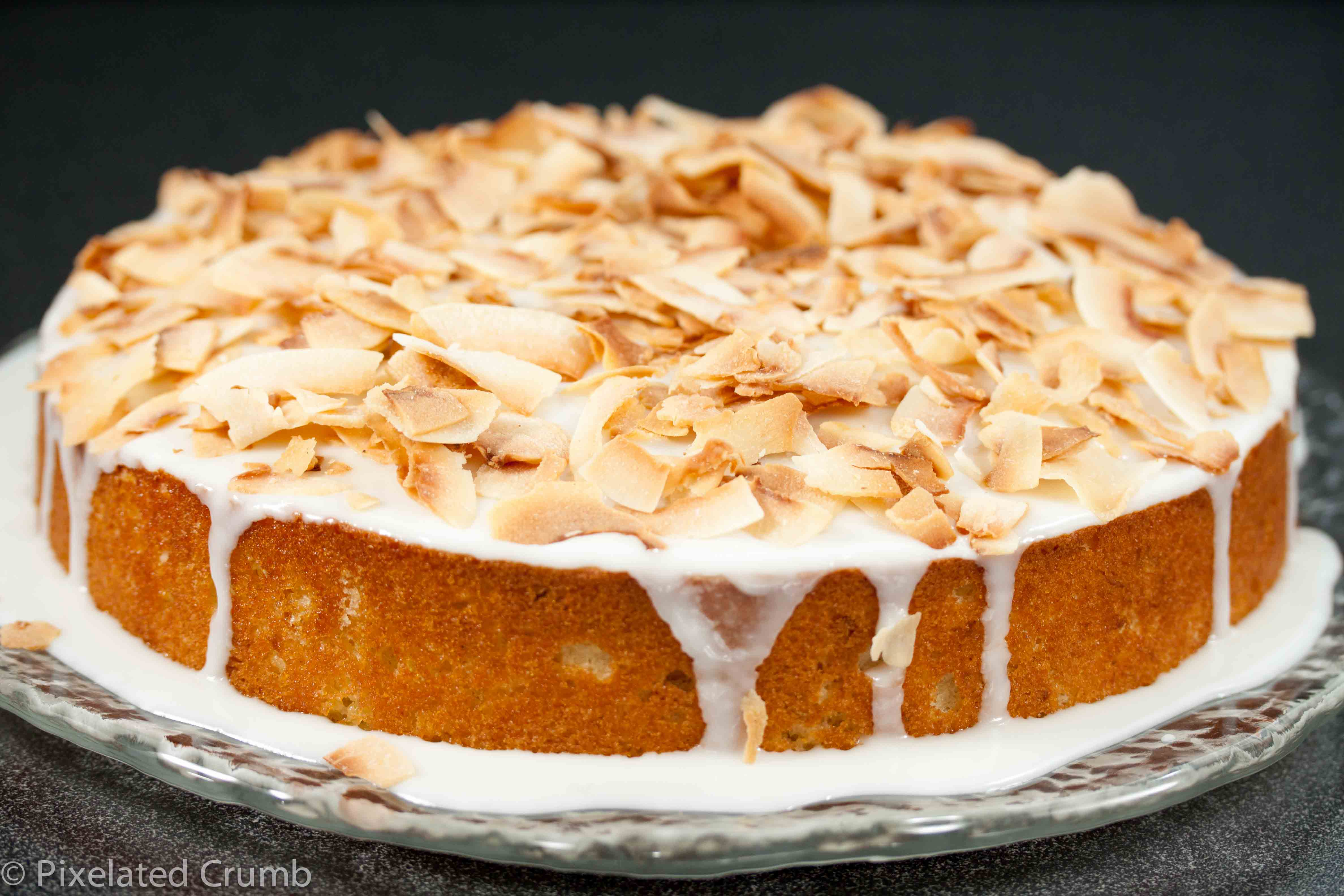 Key Lime Coconut Cake | Pixelated Crumb