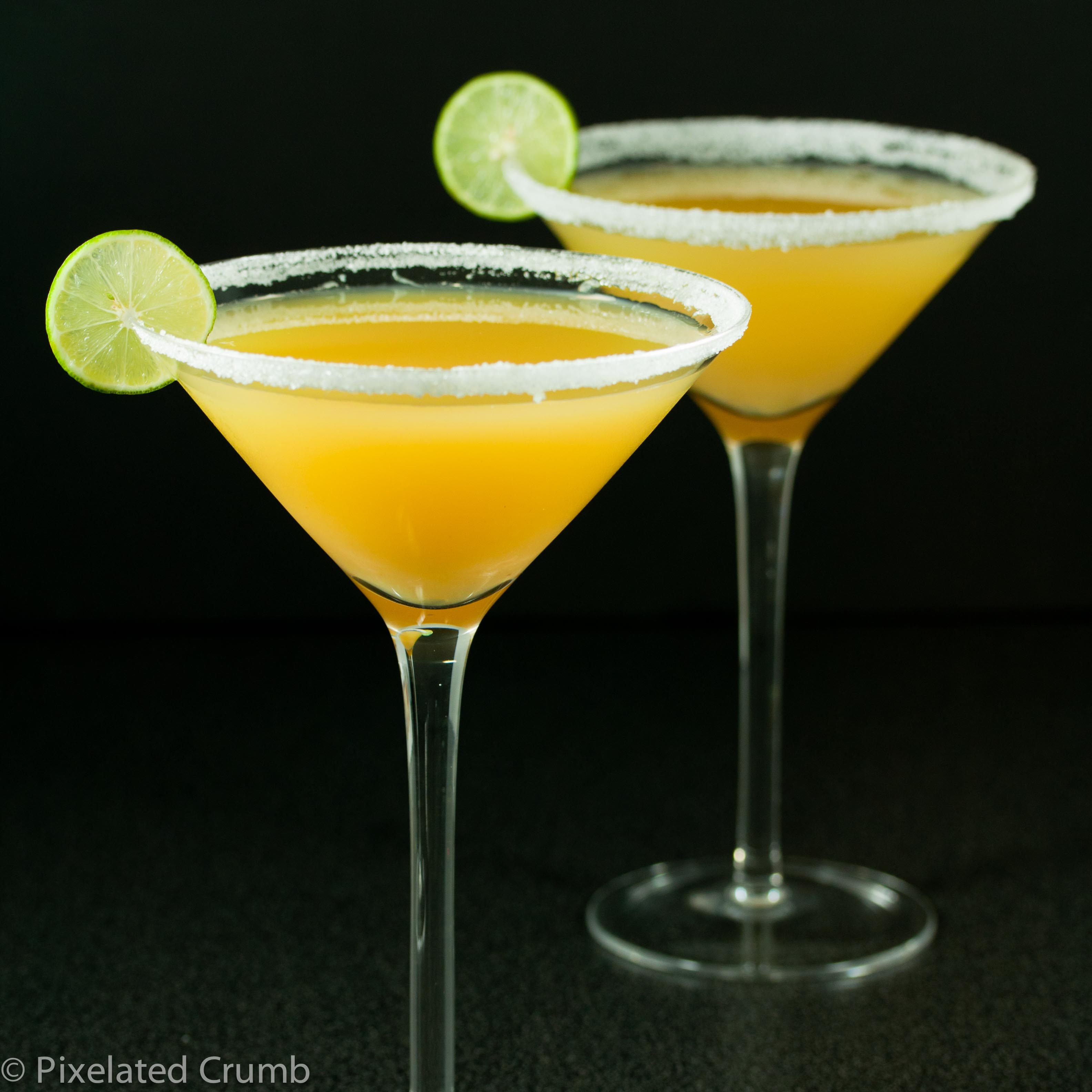 key lime pineapple citrus martini