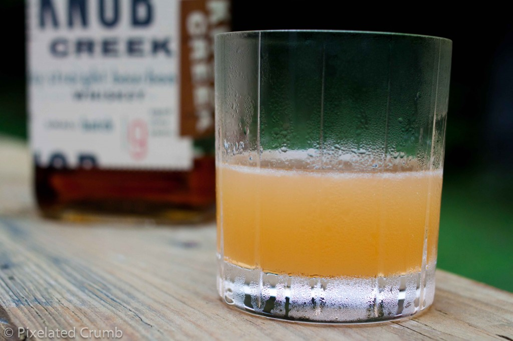 Peachy Keen Cocktail and Bourbon