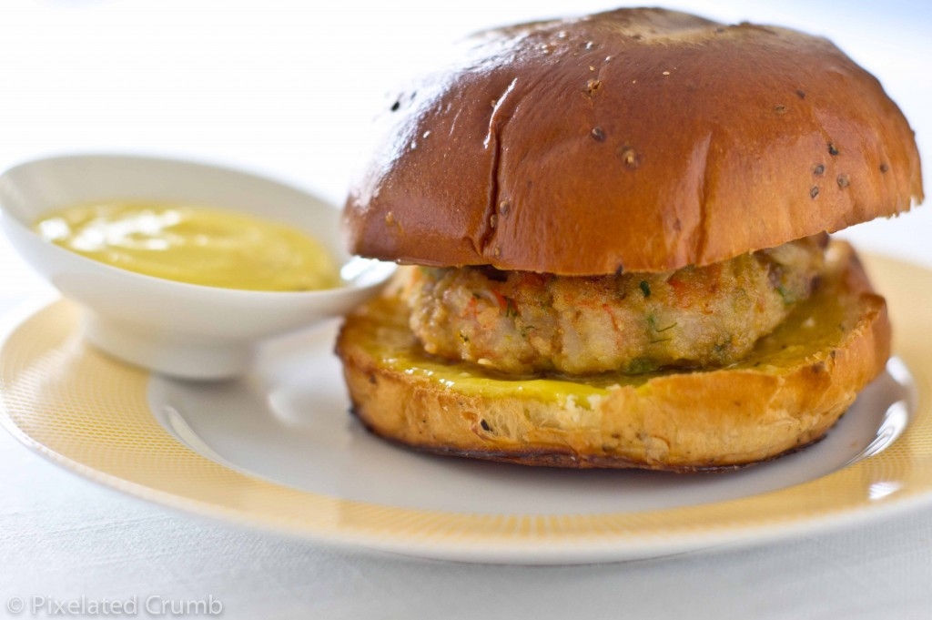 Shrimp Burgers 4 1024x681 shrimp burgers with homemade roasted garlic orange aioli