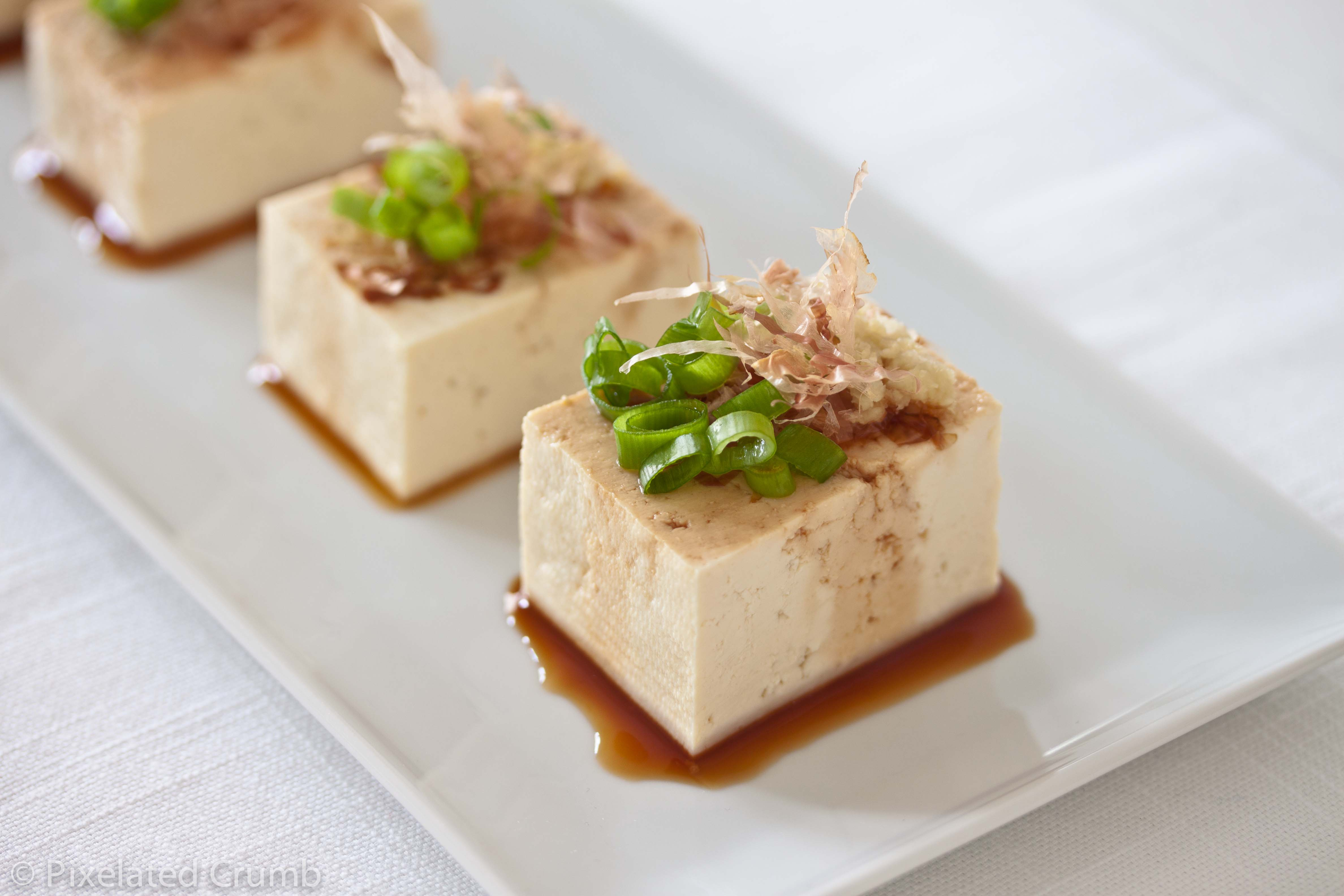 Chilled Tofu, Japanese-Style Recipes — Dishmaps