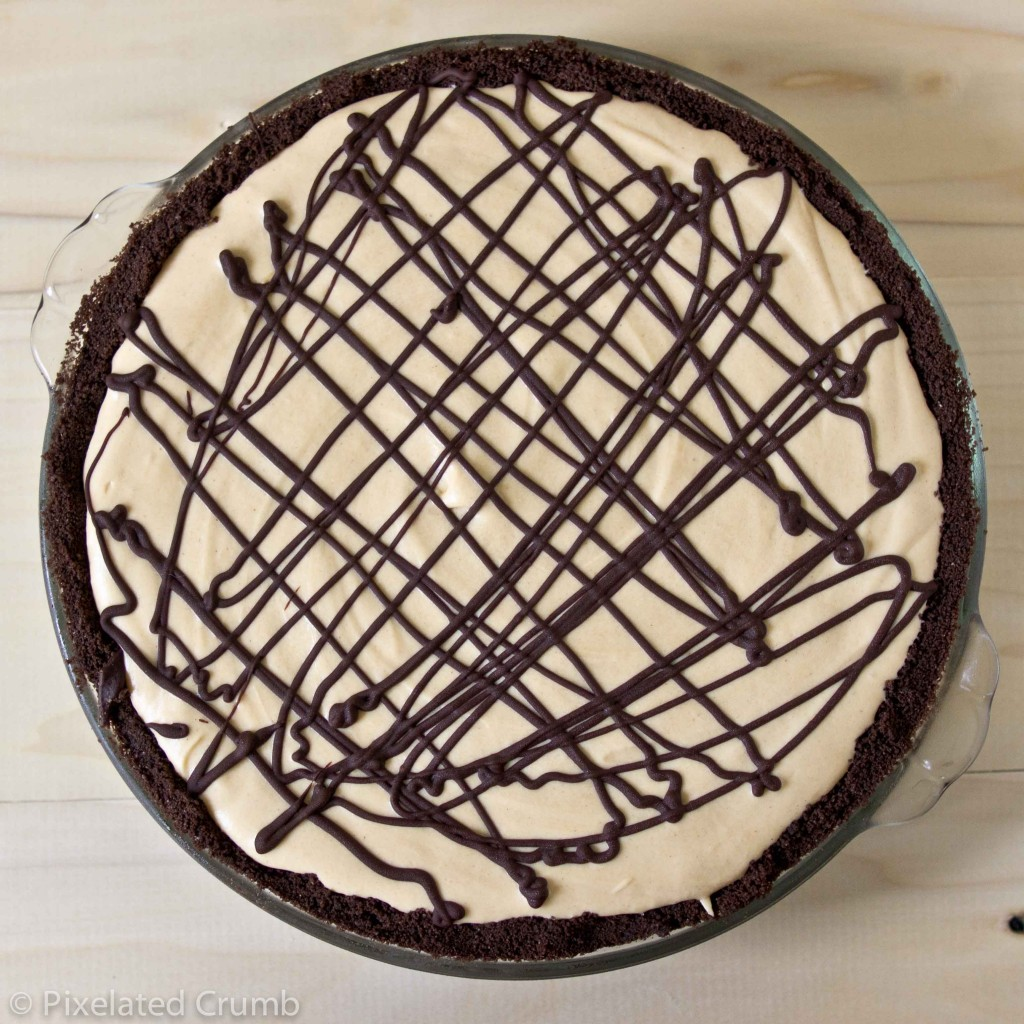 Creamy Chocolate Peanut Butter Pie