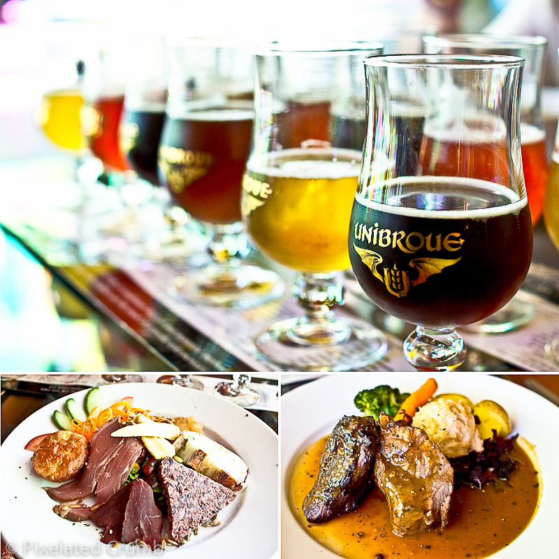 Beer Tasting and Lunch at Restaurant Le Fourquet Fourchette