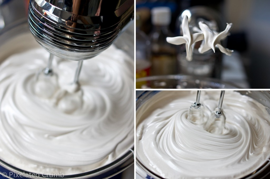 Beating Marshmallow Frosting