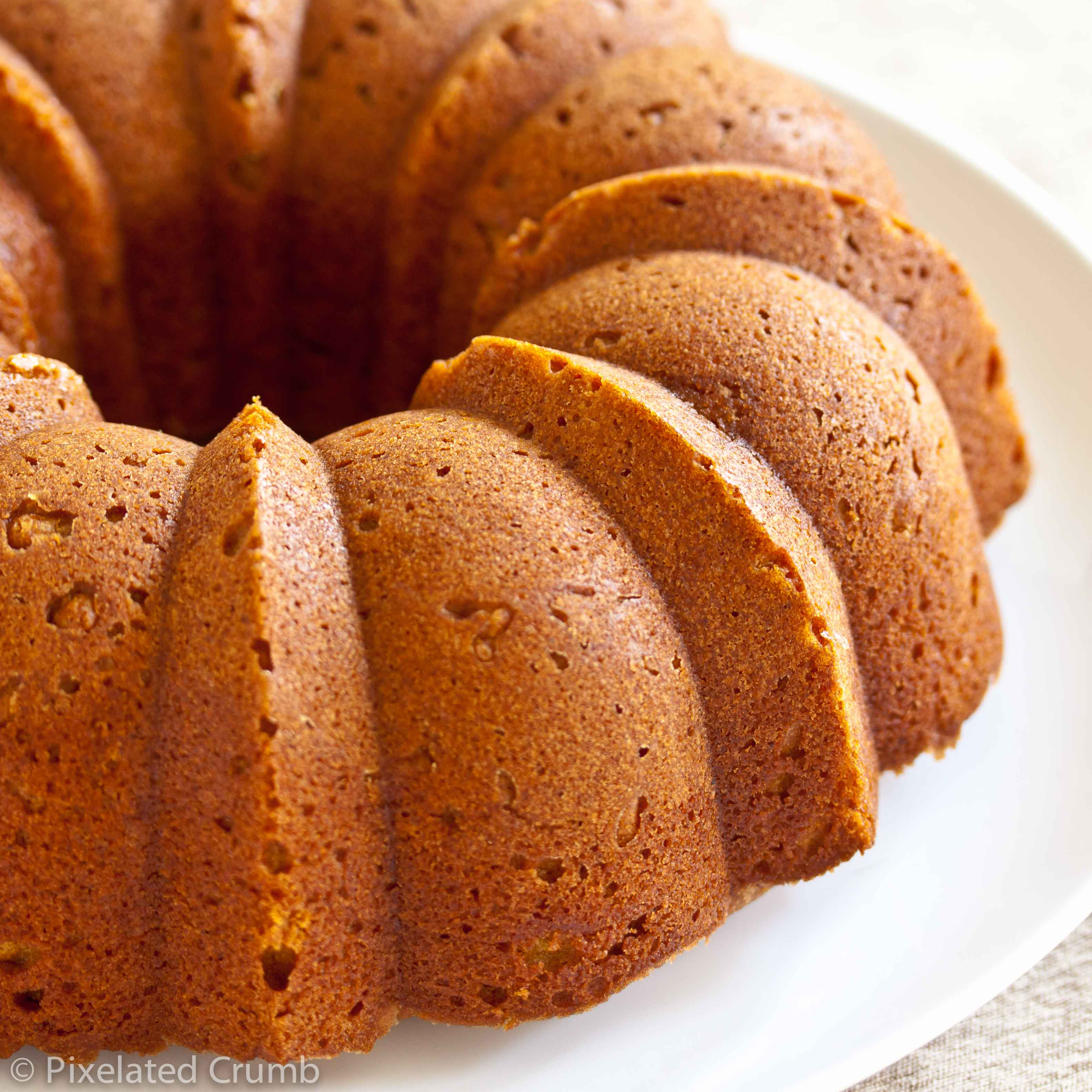 Pumpkin Buttermilk Bundt Cake | Pixelated Crumb