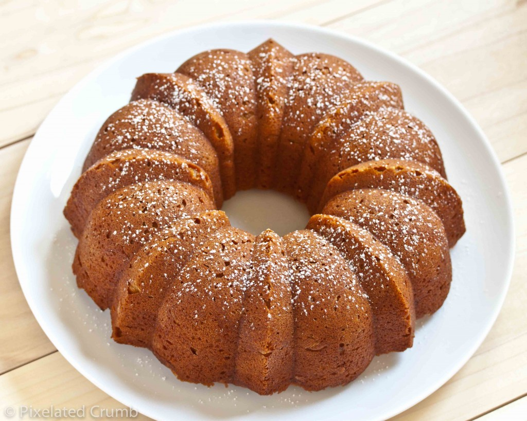 Pumpkin Buttermilk Bundt Cak