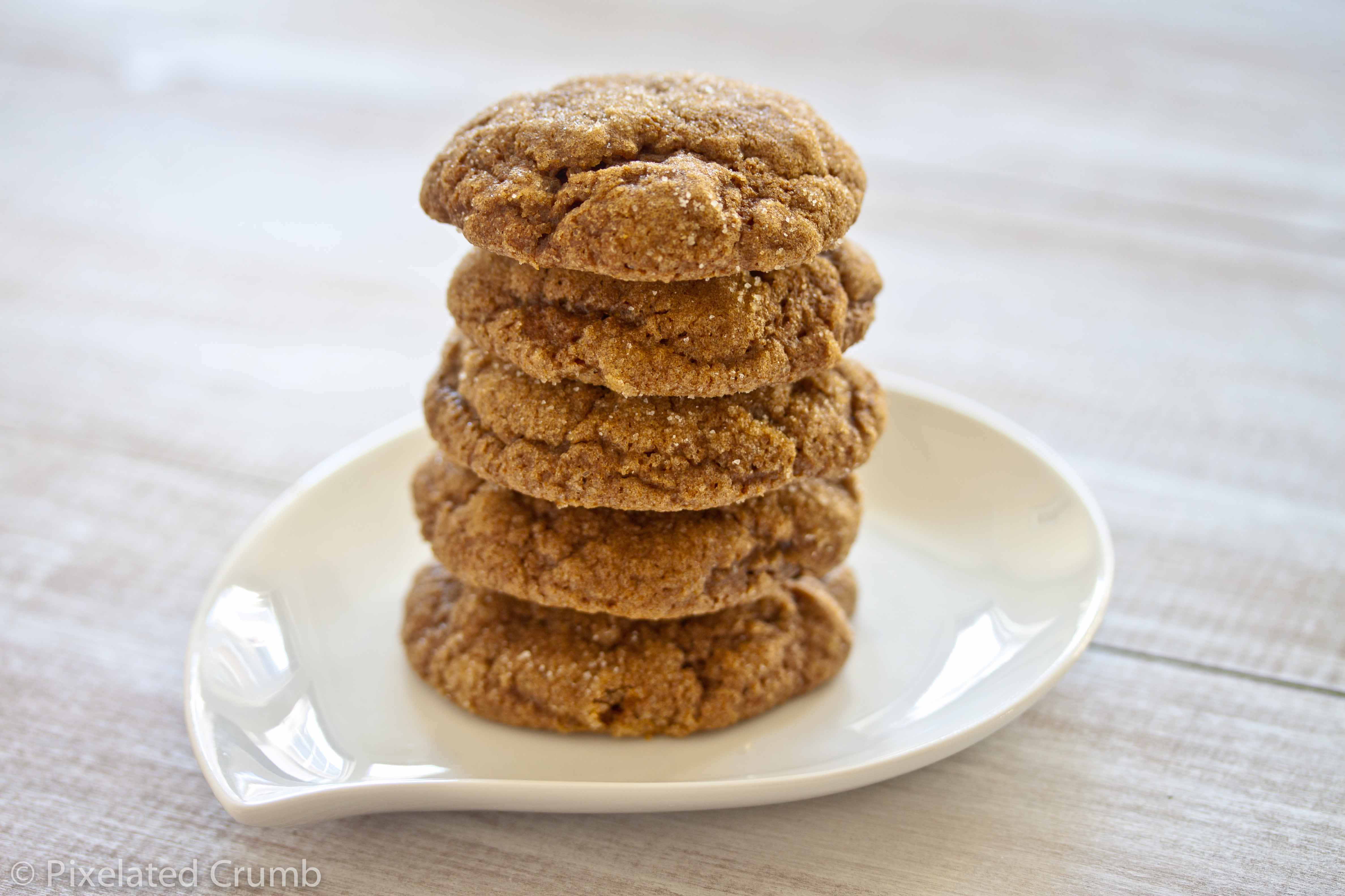 Pumpkin Gingersnap Cookies | Pixelated Crumb