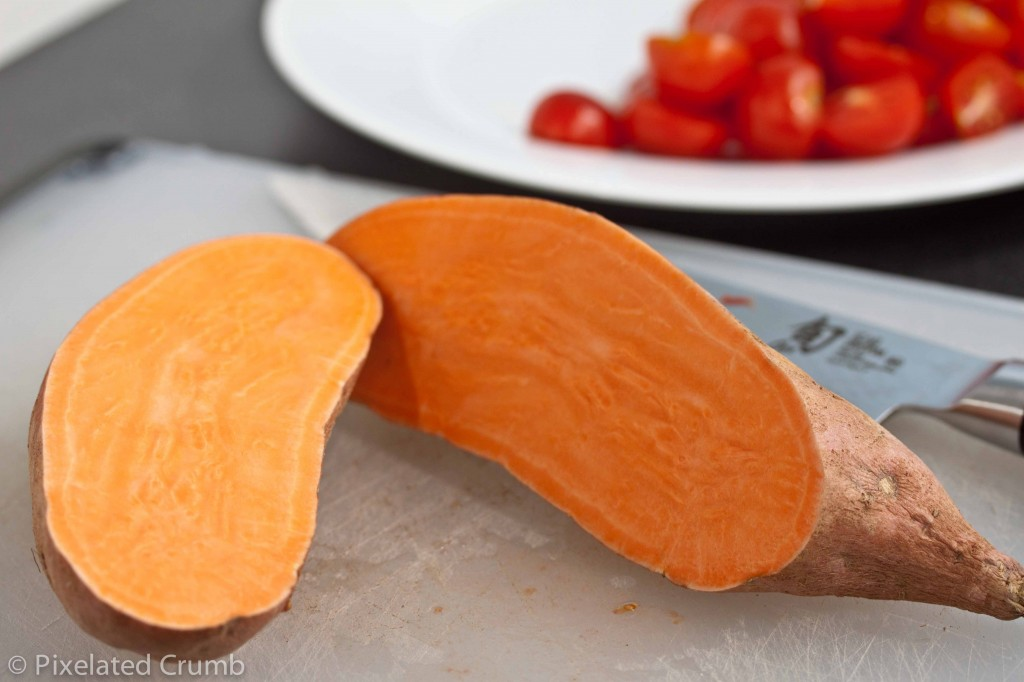 Sweet Potatoes and Tomatoes
