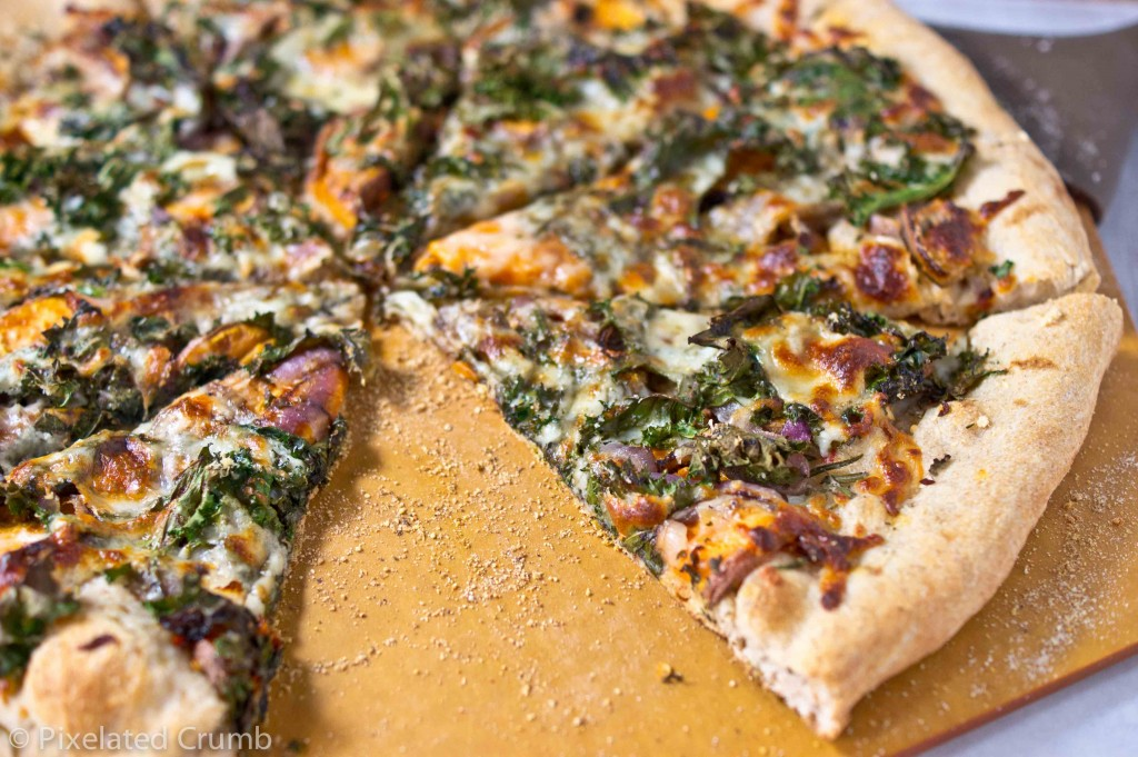 sweet potato and kale pizza 3 1024x681 sweet potato and kale pizza