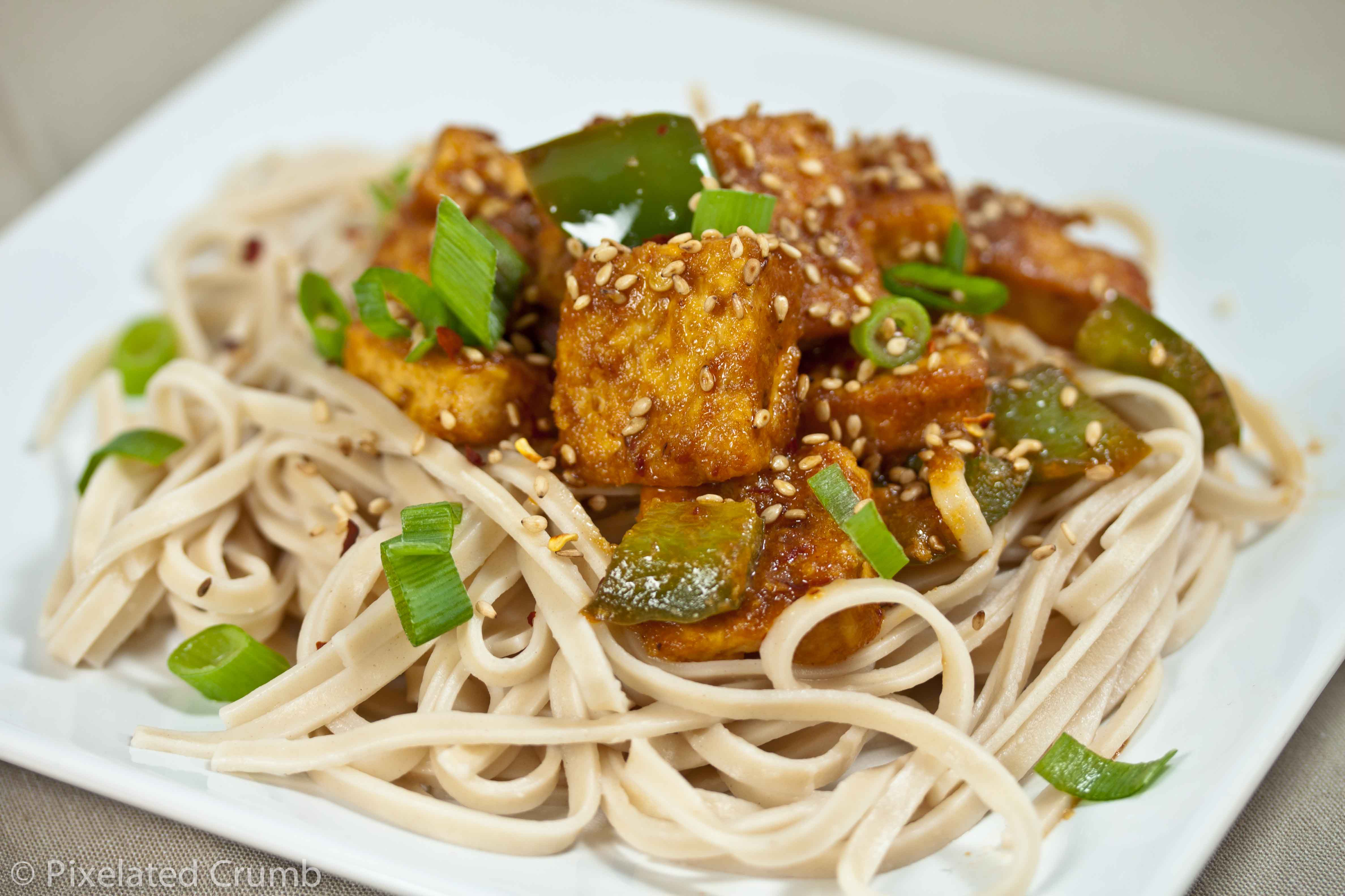 Ginger-Garlic Tofu | Pixelated Crumb