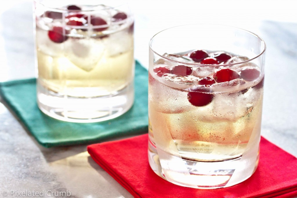 Vodka Cran-Ginger Cocktail Recipe — Dishmaps