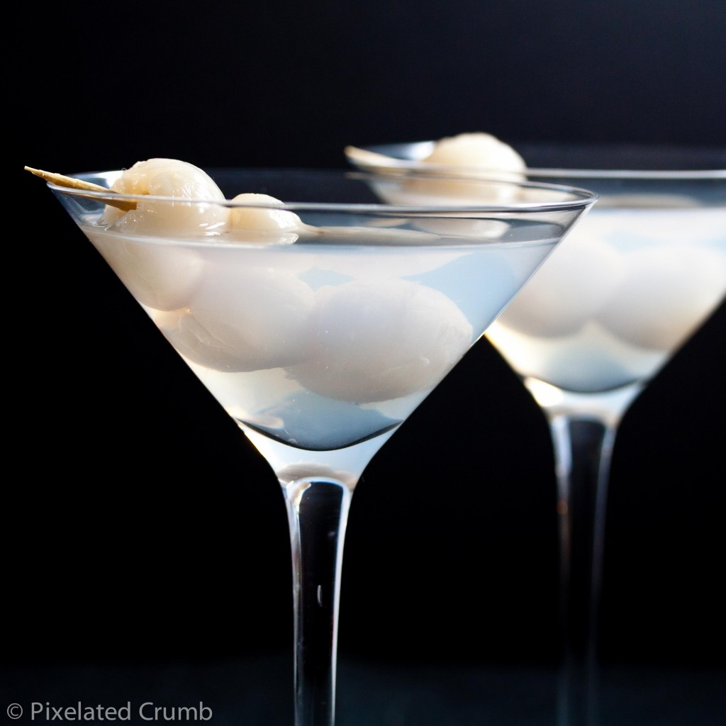 Eye of the Dragon (Lychee Martini)