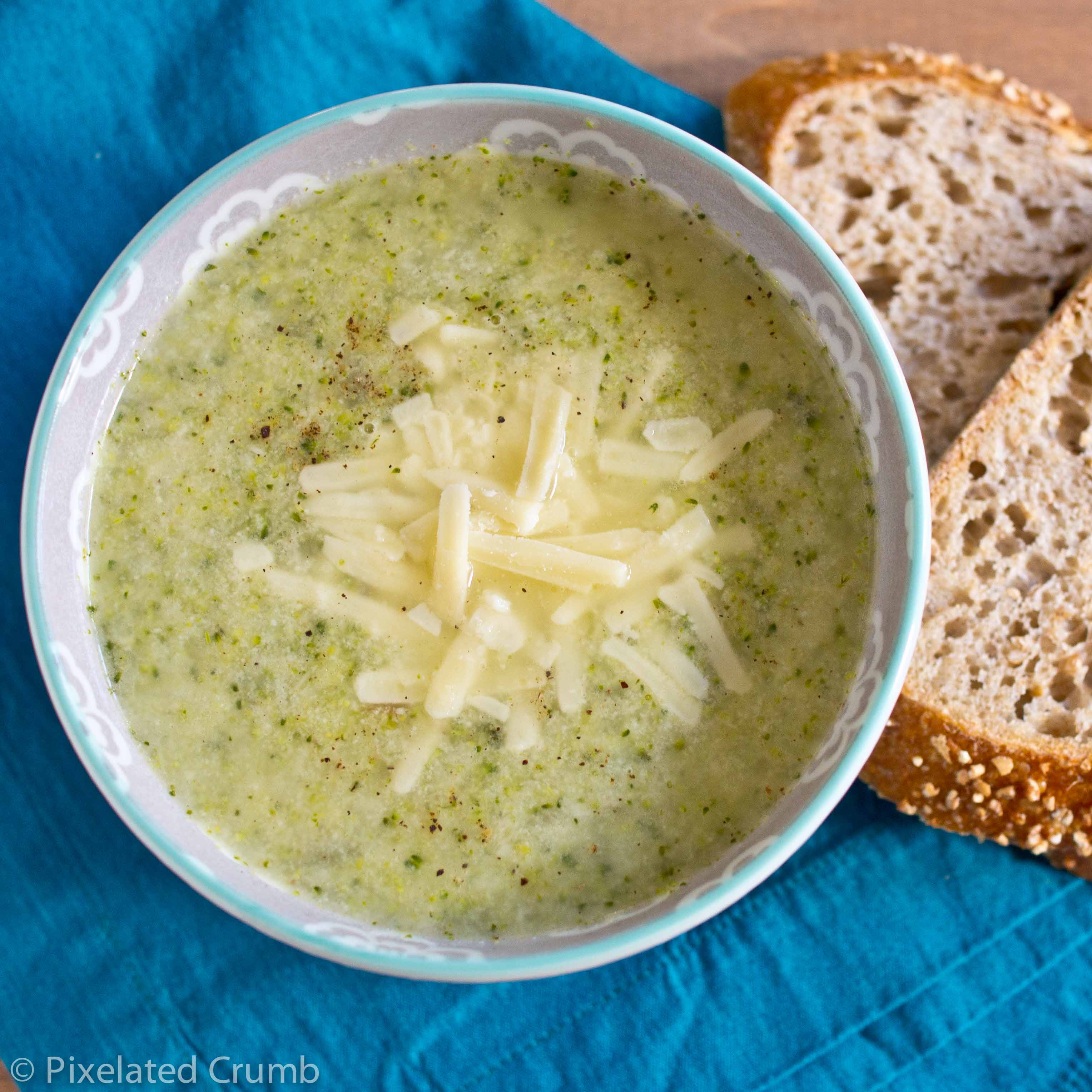 broccoli cheddar soup 4 lightened up broccoli cheddar soup