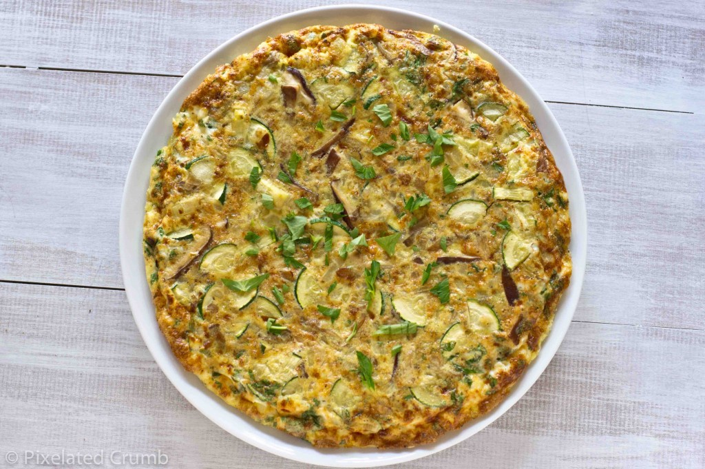 ... the frittata is set zucchini and capsicum frittata zucchini frittata