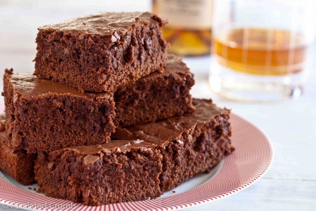 bourbon brownies 2 1024x682 bourbon brownies