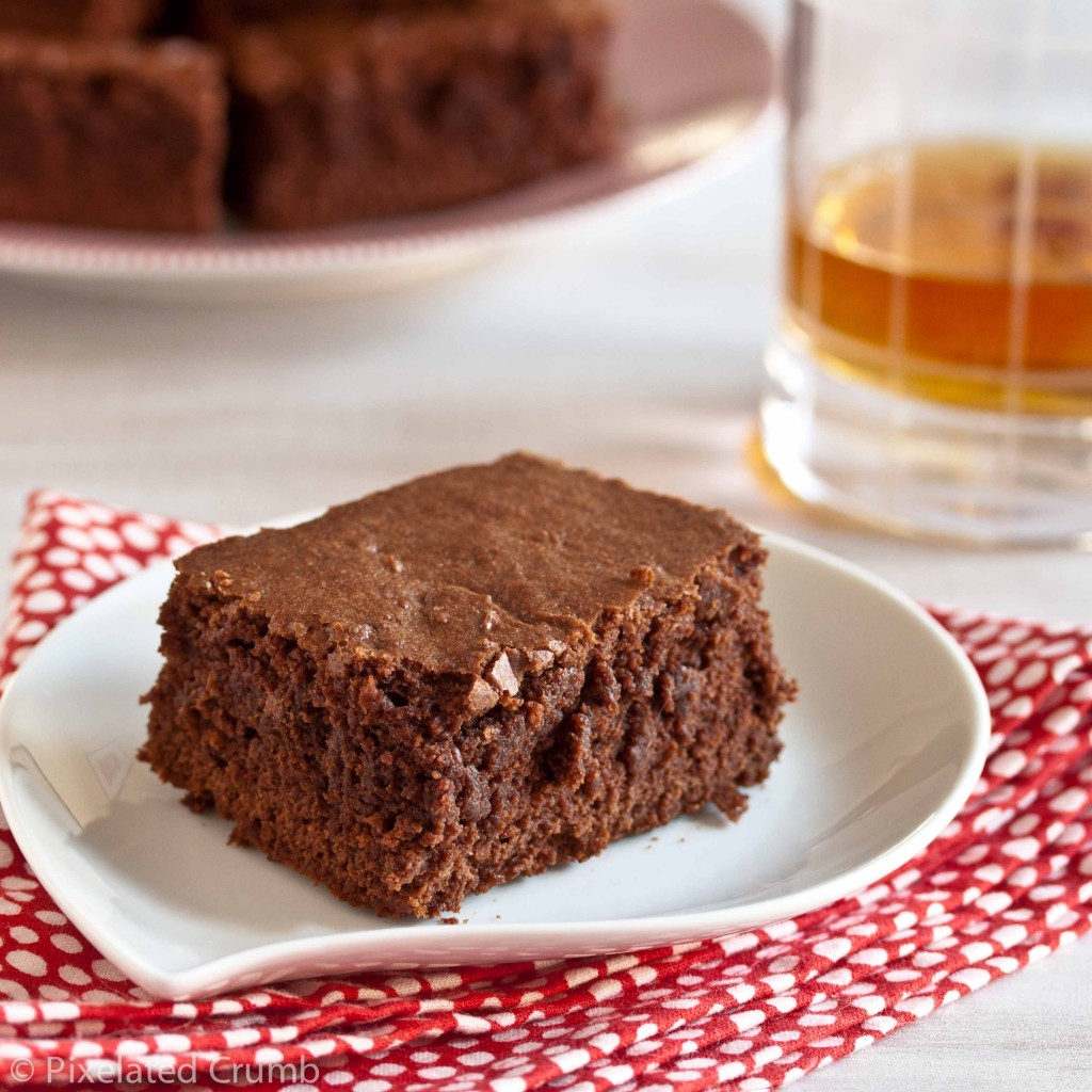 bourbon brownies 4 1024x1024 bourbon brownies