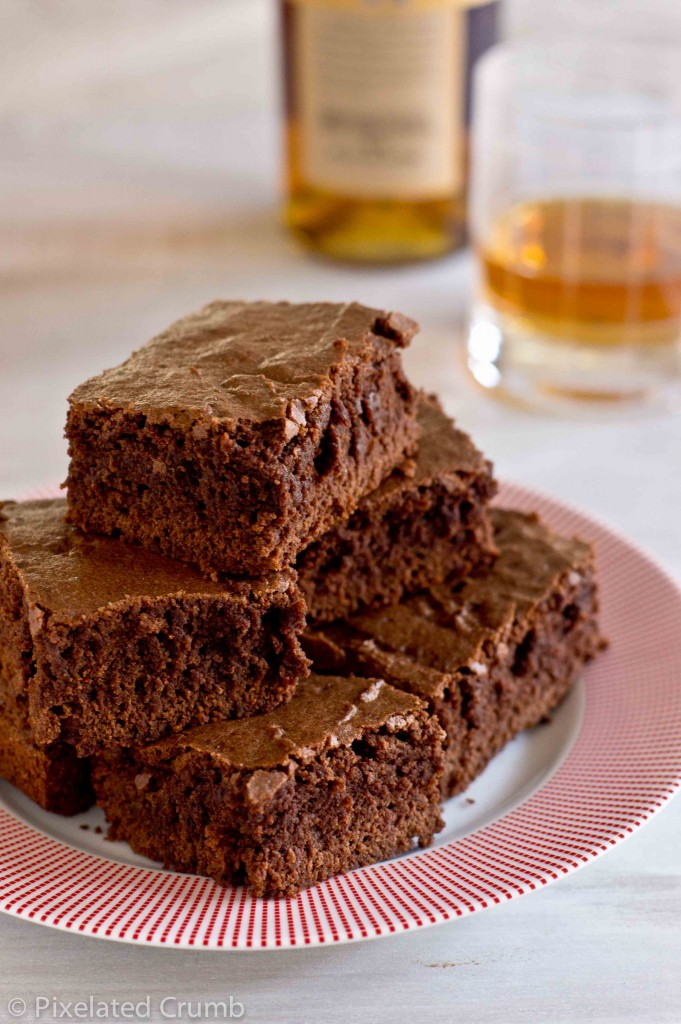 bourbon brownies 7 681x1024 bourbon brownies