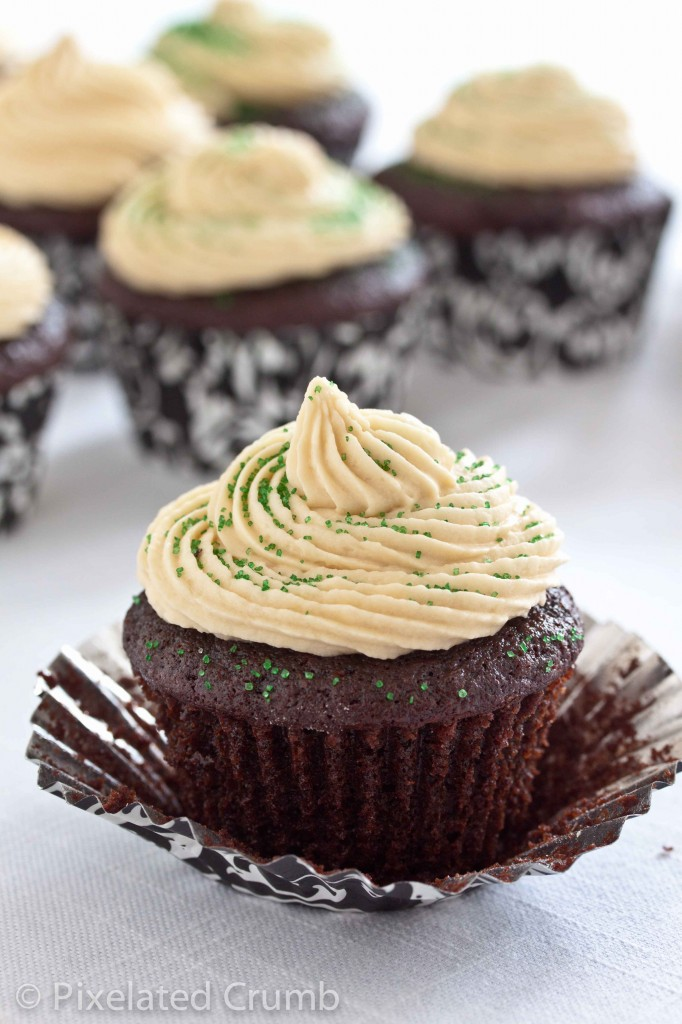 chocolate stout cupcakes with whiskey ganache filling and irish cream frosting 3 682x1024 chocolate stout cupcakes with whiskey ganache filling and irish cream frosting