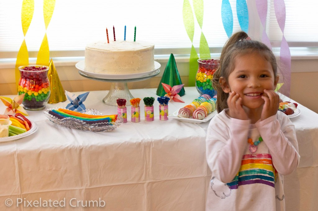 Eliana and her Rainbow Party