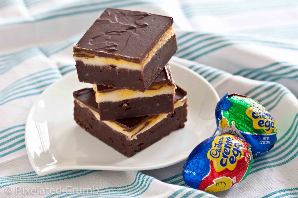 Cadbury Egg Brownies 4 1024x682 cadbury egg brownies