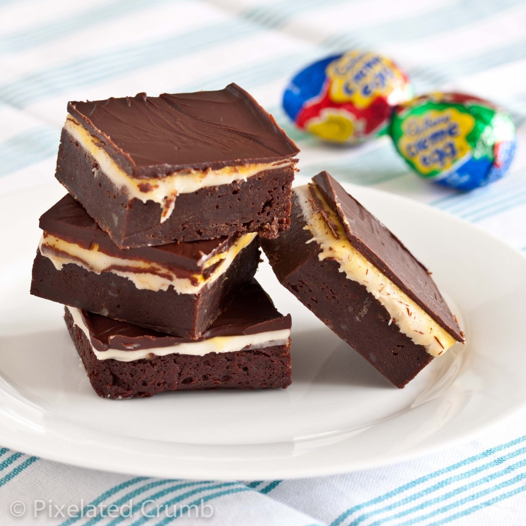 Cadbury Egg Brownies 7 1024x1024 cadbury egg brownies