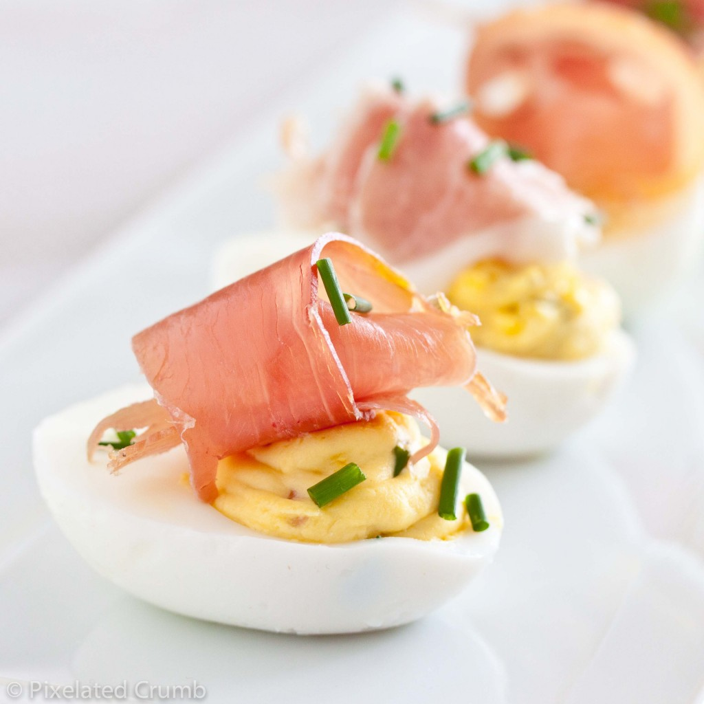 deviled eggs w prosciutto 51 1024x1024 deviled eggs with prosciutto