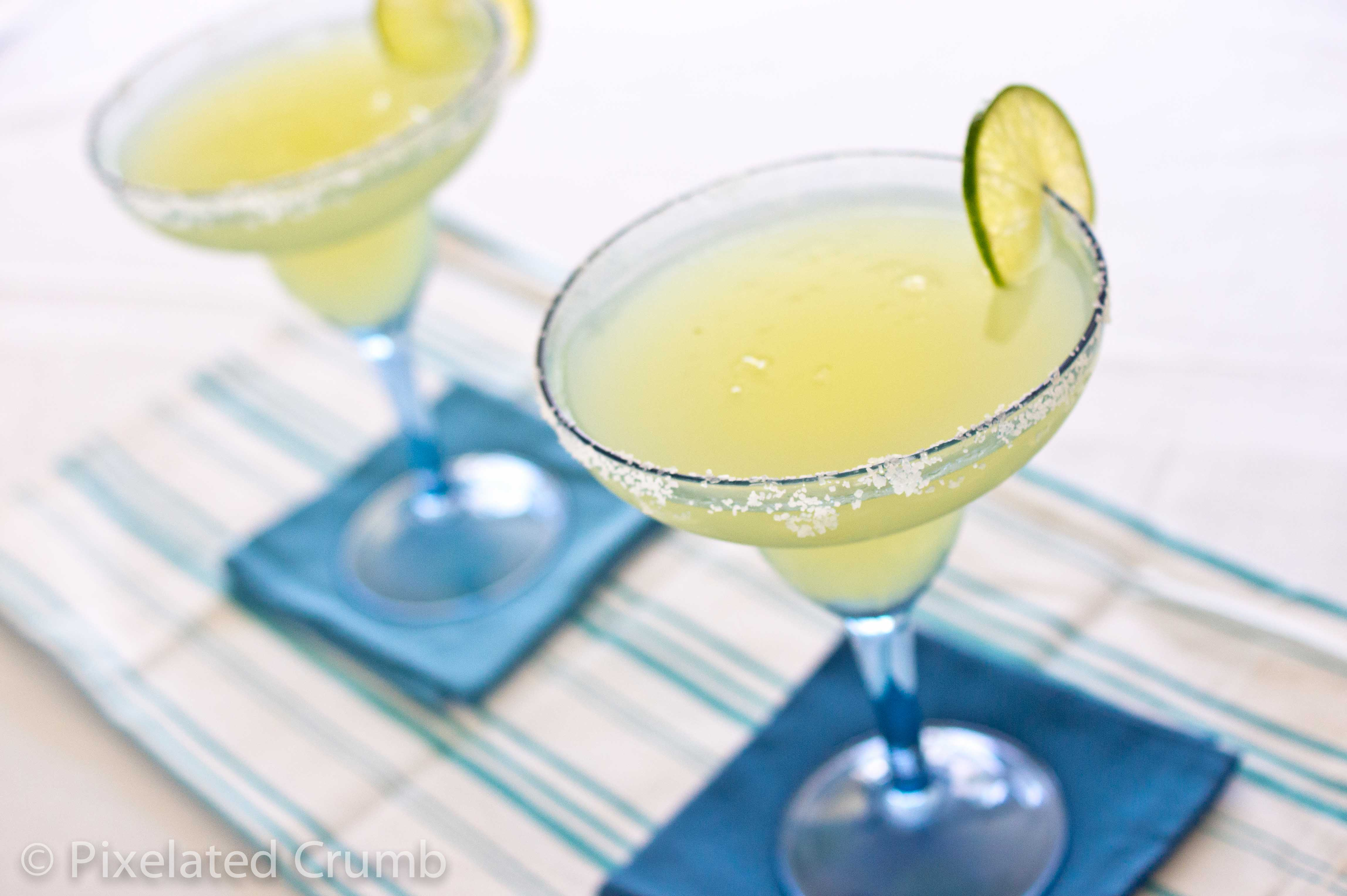 The Best Frozen Lime Margaritas Recipe — Dishmaps