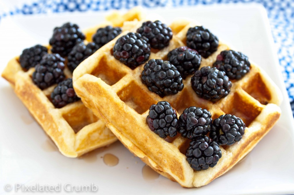 The Most Perfect Buttermilk Belgian Waffles | Pixelated Crumb