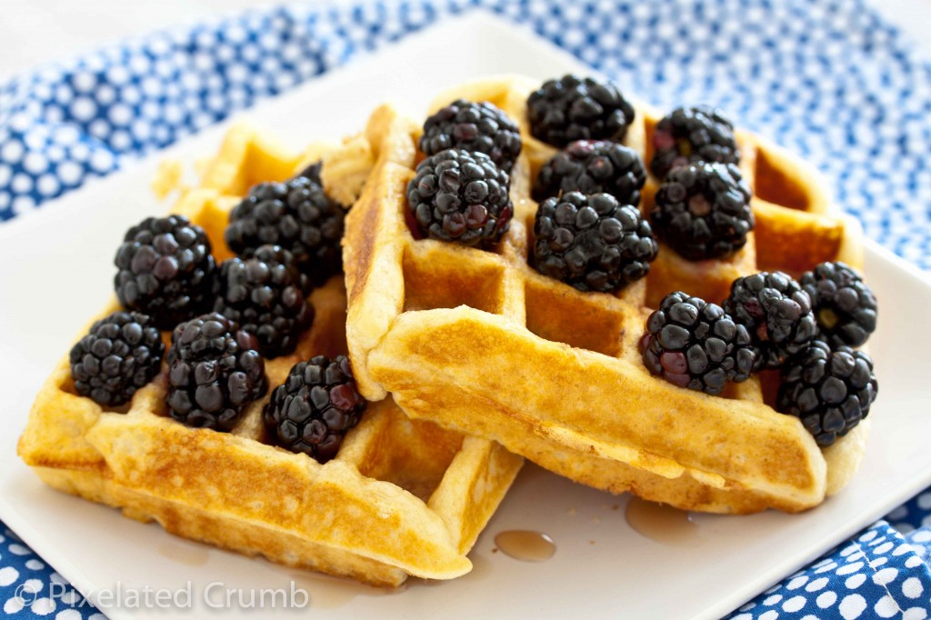 Buttermilk Belgian Waffles 3 1024x682 the most perfect buttermilk belgian waffles