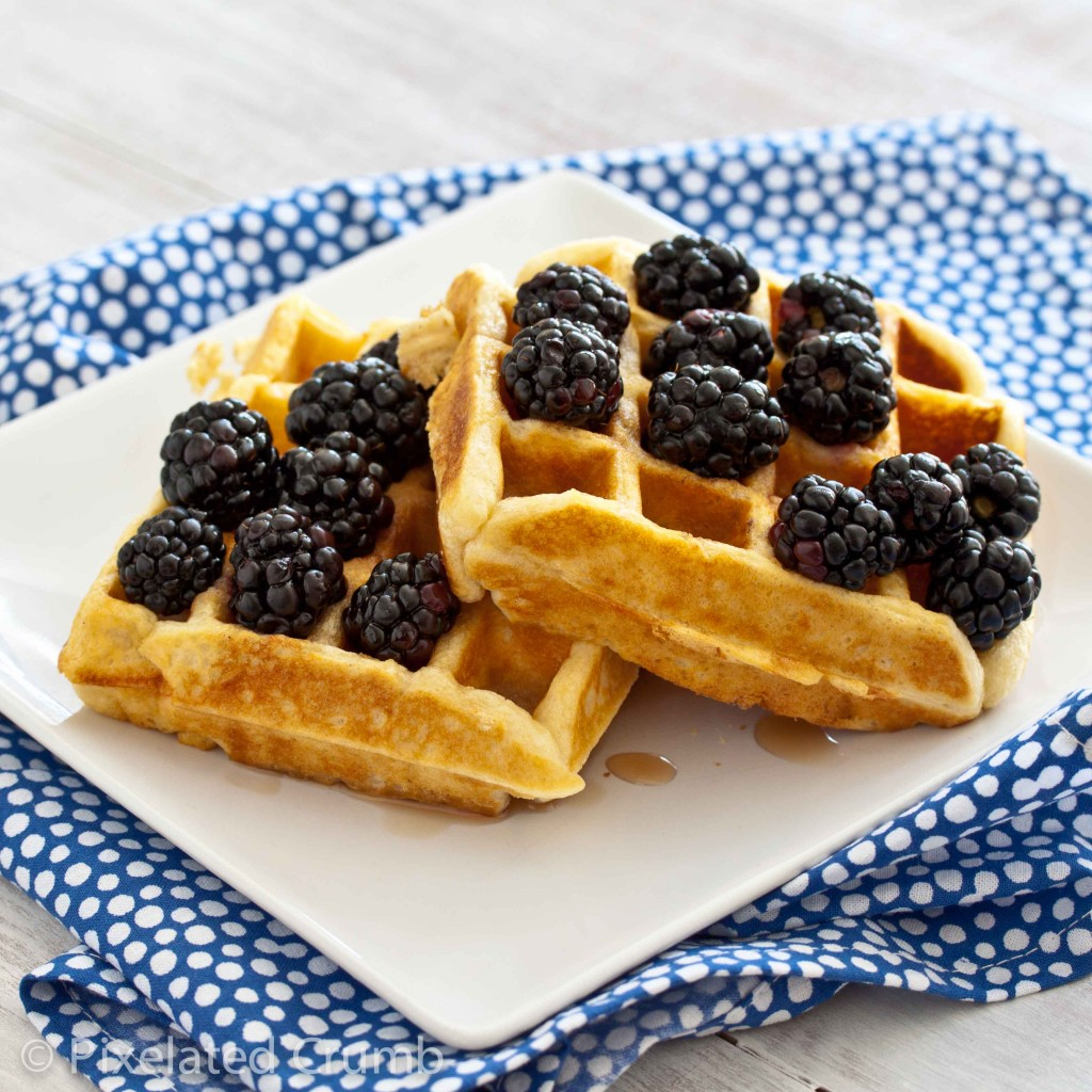 Buttermilk Belgian Waffles 4 1024x1024 the most perfect buttermilk belgian waffles