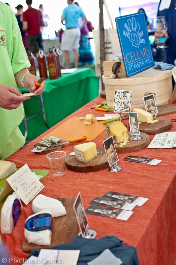 Vermont Cheesemakers' Festival 2012 - Jasper Hill