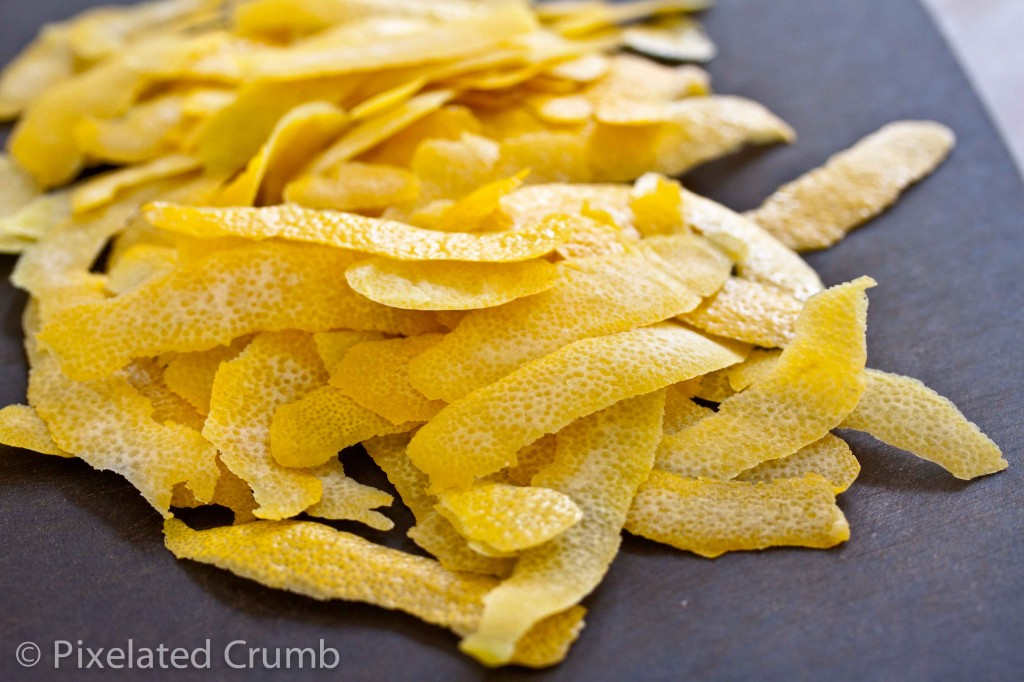 Lemon Peel Strips