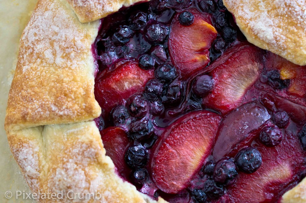pluot blueberry galette 11 1024x681 pluot and blueberry galette