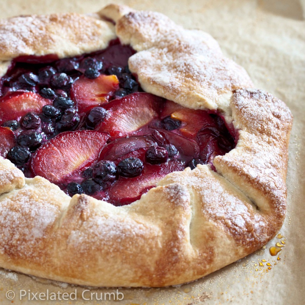 pluot blueberry galette 12 1024x1024 pluot and blueberry galette