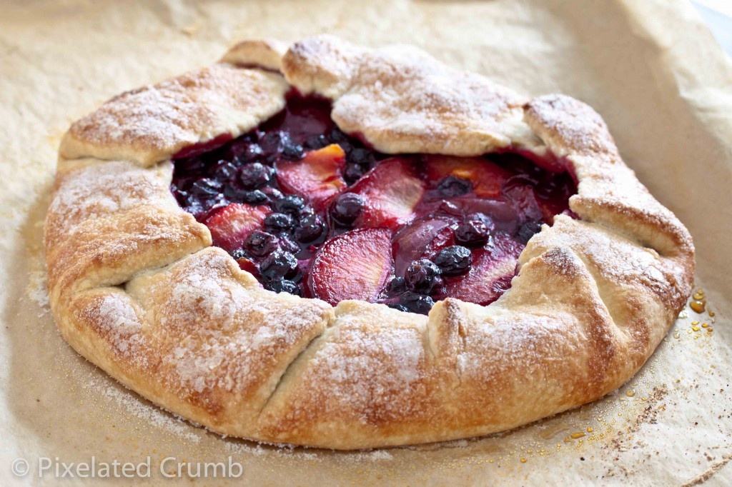 pluot blueberry galette 14 1024x682 pluot and blueberry galette