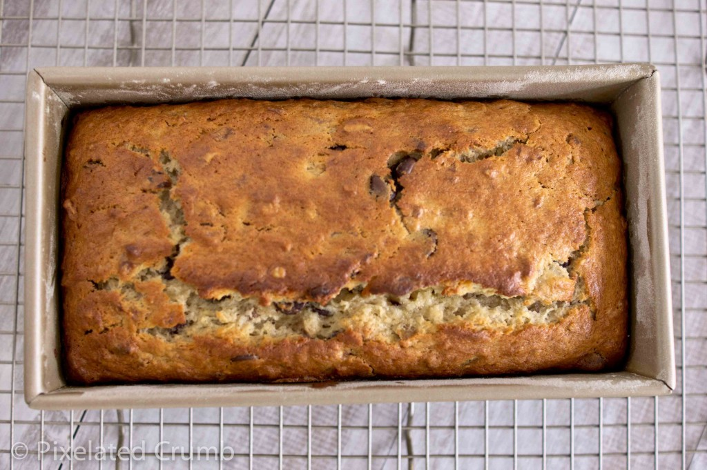 bourbon chocolate chip banana bread 8 1024x681 bourbon and chocolate banana bread