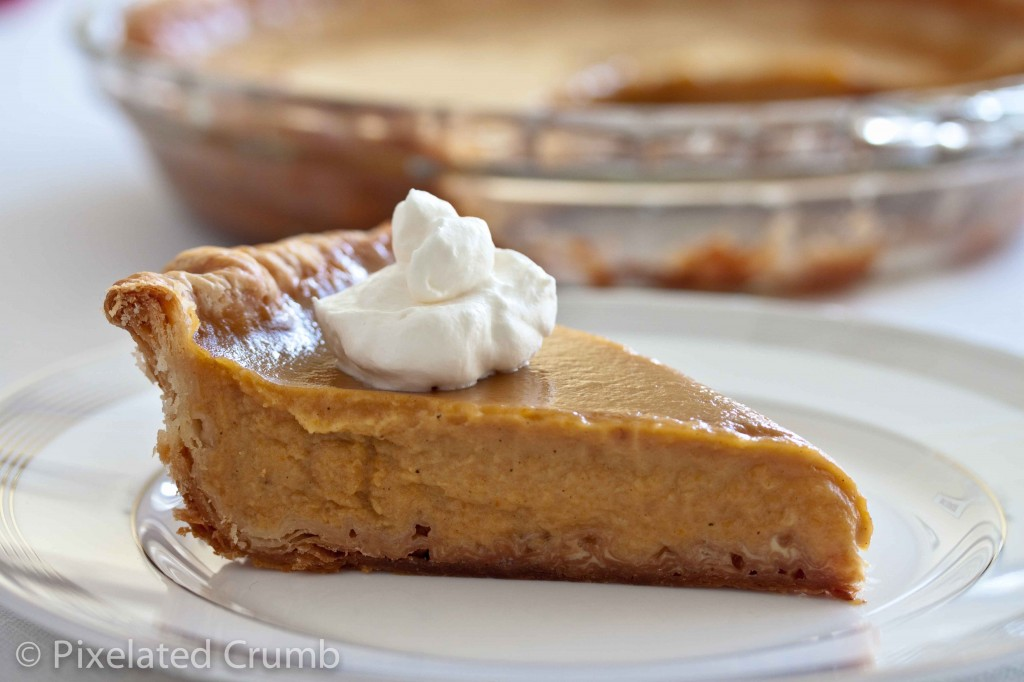 Slice of Ultimate Pumpkin Pie