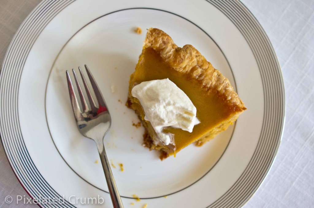 Eating a Slice of Ultimate Pumpkin Pie