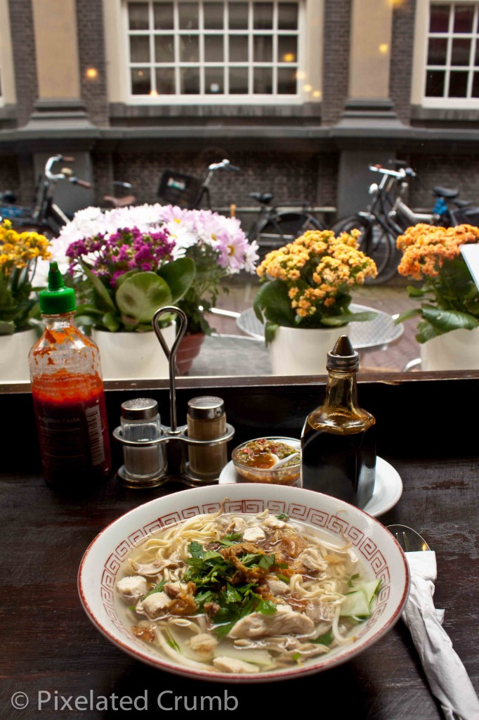Indonesian Noodle Soup in Amsterdam