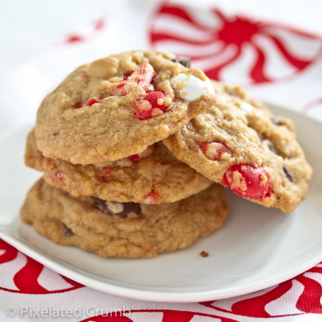 Peppermint Bark Chocolate Chip Cookie Recipe — Dishmaps