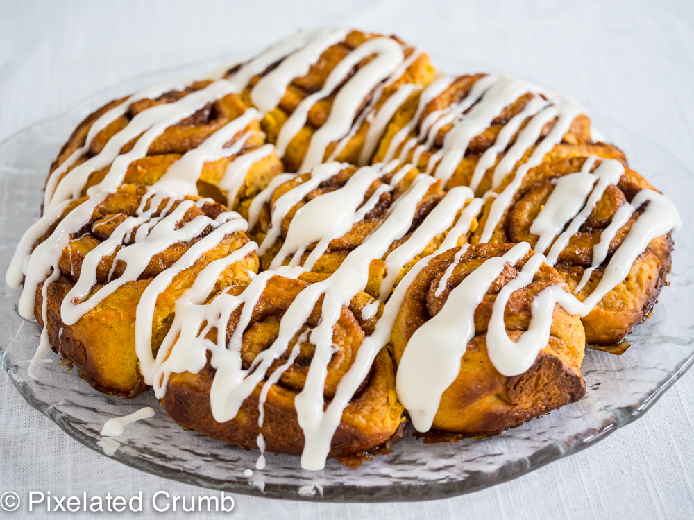 Pumpkin Cinnamon Roll Popovers Recipe — Dishmaps